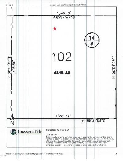White Mountain Lake Residential Lots & Land For Sale: Tbd White Mountain Lake Ranches