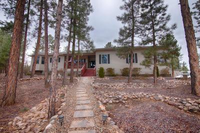 Navajo County Single Family Home For Sale: 1510 S Elk Run Drive