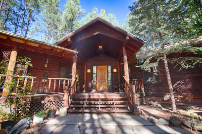 Pinetop Single Family Home For Sale: 3117 Lake View Drive