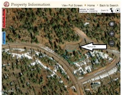 Lakeside Residential Lots & Land For Sale: 7461 N Taurus Drive