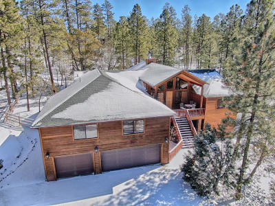 Pinetop Single Family Home For Sale: 2459 S Pinewood Lane