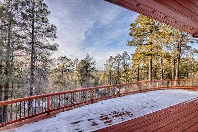 Pinetop Single Family Home For Sale: 4193 Skyline Terrace