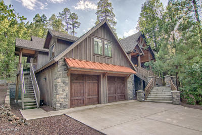 Pinetop Single Family Home For Sale: 6395 Bent Oak Drive