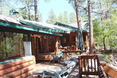 Pinetop Single Family Home For Sale: 2787 Bobcat Gulch