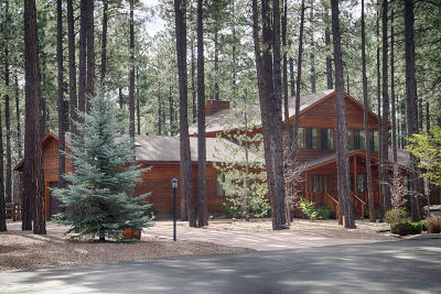 Pinetop Single Family Home For Sale: 8805 Country Club Drive