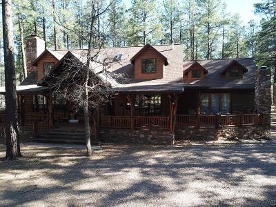 Pinetop Single Family Home For Sale: 3271 Woodpecker Lane
