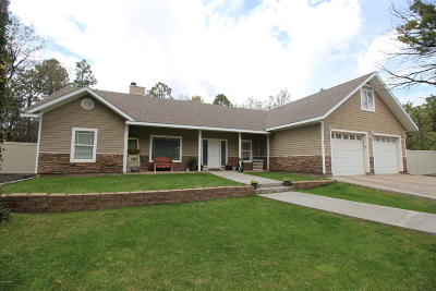Lakeside Single Family Home For Sale: 6628 Pond Drive