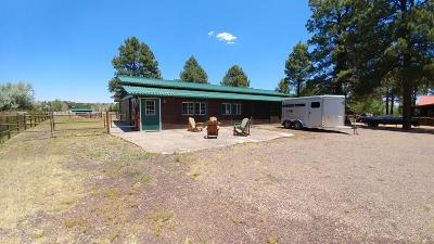 Overgaard Single Family Home For Sale: 2308 Bison Ranch Trail