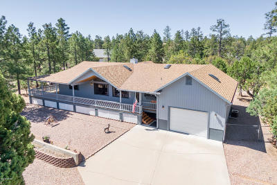 Overgaard Single Family Home For Sale: 2858 Lejo Road
