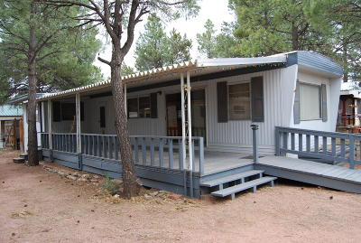 Overgaard AZ Manufactured Home For Sale: $64,900
