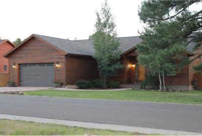 Pinetop Single Family Home For Sale: 555 E Osprey Lane