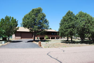 Heber Single Family Home For Sale: 3472 High Country Drive