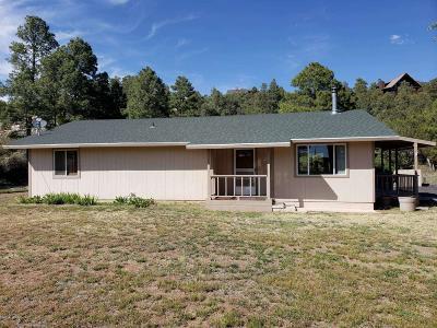 Overgaard AZ Single Family Home For Sale: $210,000