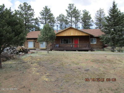 Show Low Single Family Home For Sale: 927 Fireside Lane