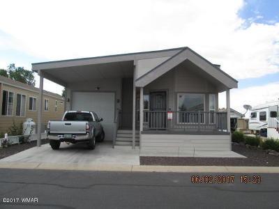 Show Low Single Family Home For Sale: 8238 E Lake Shore Drive #377