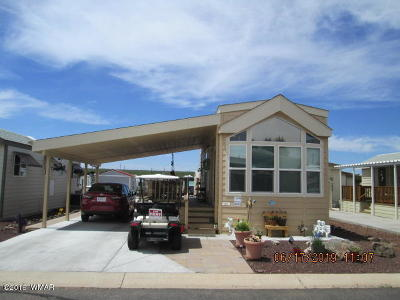 Show Low Single Family Home For Sale: 8231 Navajo Circle