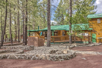 Pinetop Single Family Home For Sale: 6529 Pinto Circle
