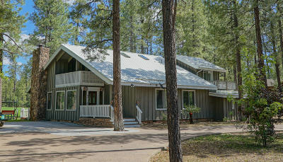 Pinetop Single Family Home For Sale: 6863 Buck Springs Road