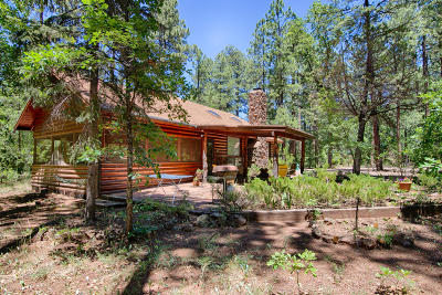 Pinetop Single Family Home For Sale: 2508 Jackrabbit Drive