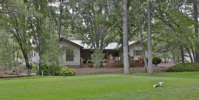 Pinetop Single Family Home For Sale: 3740 Roaring Fork Drive