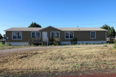 Show Low Manufactured Home For Sale: 8758 Bruce Drive