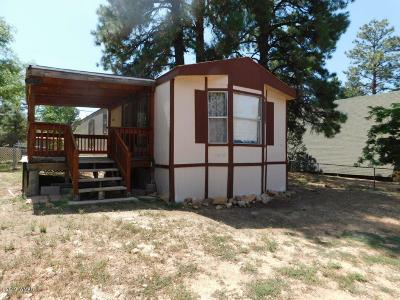 Overgaard AZ Manufactured Home For Sale: $91,500