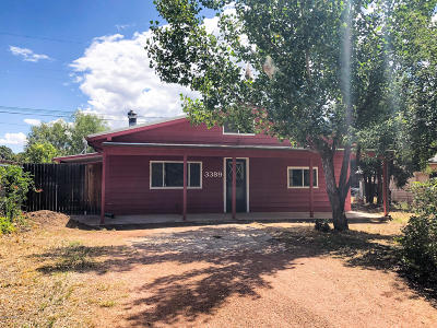 Overgaard AZ Single Family Home For Sale: $115,000