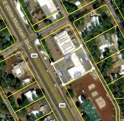 Pinetop Commercial Lease For Lease: 749 E White Mountain Boulevard