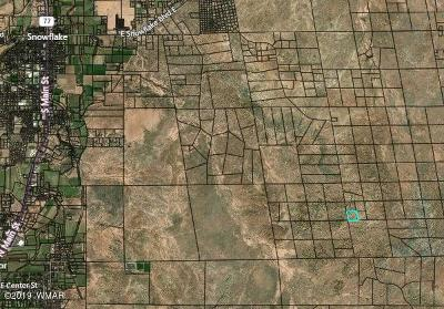 Snowflake Residential Lots & Land For Sale: Lot 3 Idlewild Ranch