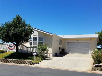 Sutter Creek CA Mobile/Manufactured Sold: $269,950