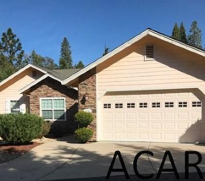 Pioneer CA Single Family Home For Sale: $320,000