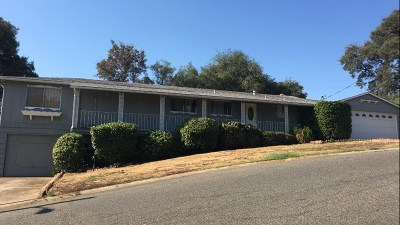 Sutter Creek CA Single Family Home For Sale: $339,000