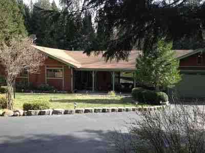 Volcano Single Family Home For Sale: 23140 Shake Ridge Rd.