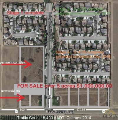 Wasco Residential Lots & Land For Sale: Valley Rose Parkway