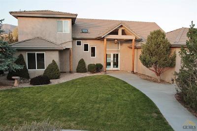 Tehachapi Single Family Home For Sale: 23840 Crystal Lake Lane