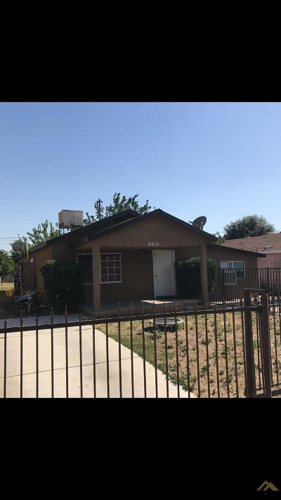Lamont Single Family Home For Sale: 8405 Montal Street