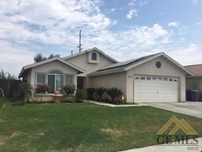 Delano Single Family Home For Sale: 2423 Campania Drive