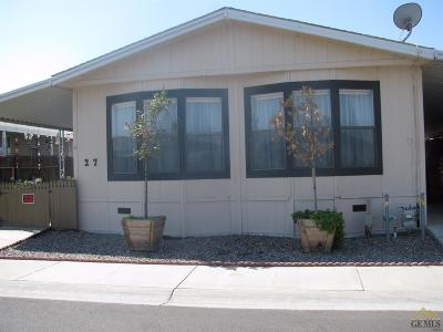 Bakersfield Manufactured Home For Sale: 1301 Taft Highway #27