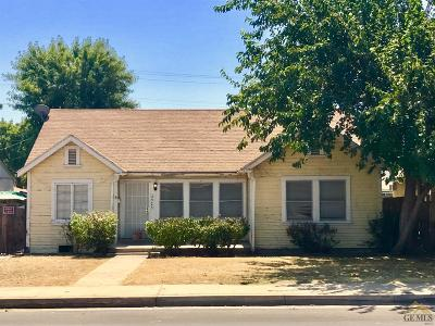 Bakersfield CA Single Family Home For Sale: $154,000