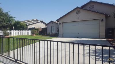 Wasco Single Family Home For Sale: 2541 Camellia Street