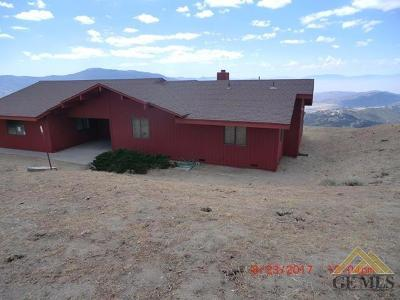 Tehachapi Single Family Home For Sale: 23761 El Rancho Drive