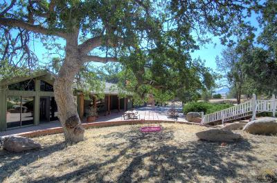 Tehachapi Single Family Home For Sale: 21542 Stacey Lane