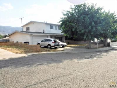Tehachapi Single Family Home For Sale: 206 Bartlett Street