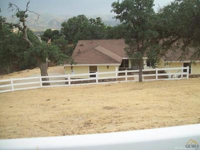 Tehachapi Single Family Home For Sale: 21224 Quail Springs Road