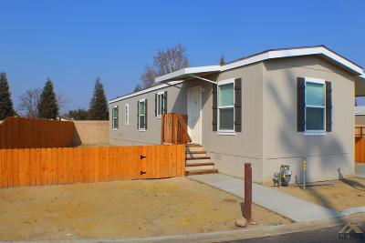 Bakersfield Manufactured Home For Sale: 191 Kings Lane