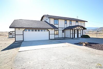 Tehachapi Single Family Home For Sale: 23653 Woodford Tehachapi Road