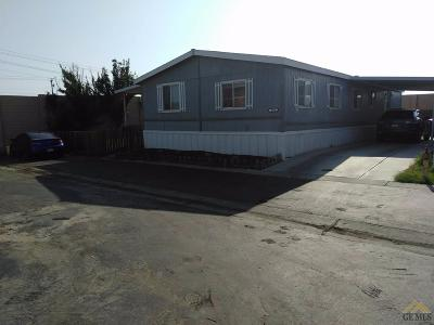 Bakersfield Manufactured Home For Sale: 6601 Eucalyptus Drive #269
