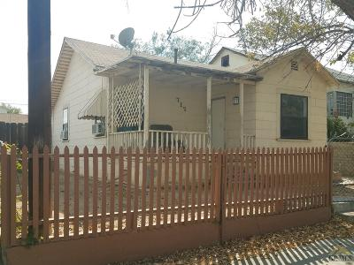 Taft Single Family Home For Sale: 717 North Street
