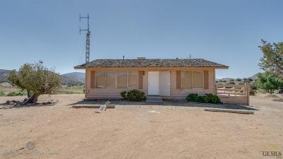 Tehachapi Single Family Home For Sale: 24038 Sand Canyon Road