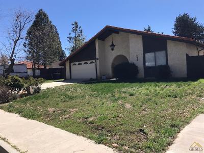 Tehachapi Single Family Home For Sale: 534 Jacobsen Court